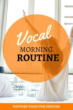 Give your voice life and prepare it for vocal demands of the day with this vocal routine. Watch this video. Vocal Warm Up Exercises, Singing Exercises, Learn Singing, Singing Tips, Morning Routine Youtube, Vocal Warmups, Workout Warm Up, Your Voice, Wake Up