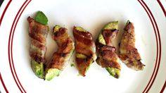 Low Carb Bacon Wrapped Avocado