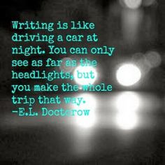 writing is a trip ;)
