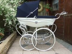 LOVE old baby prams