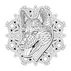 husky get free printable pages to download and color from color serenity at www