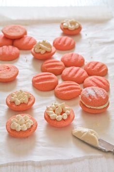 Plateful: Eggless Strawberry Melting Moments—melt-in-your mouth sandwich cookies for the holiday season