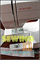 Sewing for dummies.    Thanks, Sarah!  :)