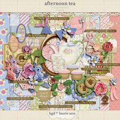 Afternoon Tea by Laurie Ann {complete kit} http://the-lilypad.com/store/Afternoon-Tea-by-Laurie-Ann-complete-kit-la_AfternoonTea1.html