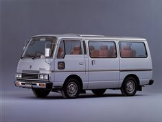 Nissan Caravan Silk Road (E23) '1983–86