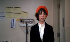 """Talia Shire as Adrian in """"Rocky"""" - love the hat"""