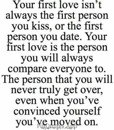 first love - Best quotes about first love. Saying Images shares with you the most inspirational first love quotes One Love Quotes, Cute Quotes, Great Quotes, Quotes To Live By, Funny Quotes, Inspirational Quotes, Quotes About First Love, First Crush Quotes, I Will Always Love You Quotes