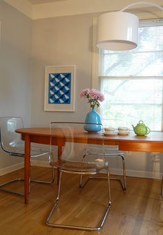 Dining Table Against Wall ikea tobias chairs at wood table   for the home   pinterest   wood