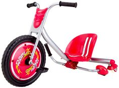 Razor Kids Trike Ride On Tricycle Radio Bike Spark Rider 360 Drifting. My kids love it. Great for of July. Skate Longboard, Trike Bicycle, Tricycle Bike, Bicycle Wheel, Spark Up, Drift Trike, Big Wheel, Bucket Seats, Best Christmas Gifts