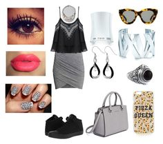 """""""#140"""" by lucieprettyliars ❤ liked on Polyvore featuring Converse, MICHAEL Michael Kors, Karen Walker, Tiffany & Co., Doma and Topshop"""