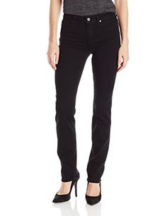 PAIGE Women's Hoxton Straight Jeans-Black Shadow, Black Shadow, 10 inch 34 inch 14 inch Made from our most extravagantly delicate rise above texture. Best Jeans For Women, Jeans Women, Flannel Lined Jeans, Black Shadow, Jeans And Sneakers, High Rise Jeans, Paige Denim, Jean Outfits, Jeans Style