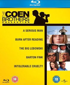 LOWEST EVER AMAZON PRICE The Coen Brothers Collection Blu Ray Set £6.95 (£8.44 without Prime)