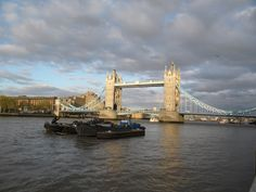 An evening at the Thames...  Tower-Bridge, London