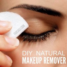 DIY Natural Makeup Remover  Get The Glow... VISIT >> http://www.farsali.com