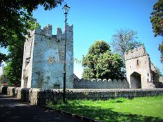 Monkstown Castle | Ireland Belfast Castle, Dublin Castle, Canadian Identity, Dublin Street, Scottish People, Photo Archive, Tower Bridge, Cathedral, Ireland