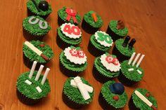 Cricket Theme Baby Shower Themes, Baby Boy Shower, Baby Showers, Mini Cupcakes, Fondant, Tea Cups, Xmas, Cricket, Birthday