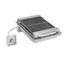 """Wells Charbroiler 20"""" wide - B-446    Wells Charbroiler 20"""" wide - B-446  Charbroiler, built-in, electric, cast iron grate, 20"""" wide, stainless steel construction, with grease pan and scraper/brush"""