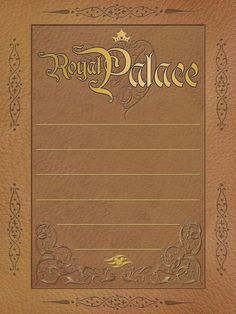 "Disney Cruise Line - Royal Palace - Project Life Journal Card - Scrapbooking. ~~~~~~~~~ Size: 3x4"" @ 300 dpi. This card is **Personal use only - NOT for sale/resale** Logos/clipart belong to Disney."