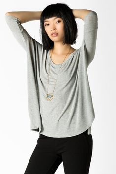 Cooper Ribbed Tee