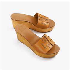 Visit Tory Burch to shop for Ines Wedge Slide and more Womens Wedges. Find designer shoes, handbags, clothing & more of this season's latest styles from designer Tory Burch. Block Sandals, Summer Wedges, Tory Burch Sandals, Flip Flop Shoes, Diva Fashion, Womens Shoes Wedges, Shoe Boots, Women's Shoes, Slide Sandals
