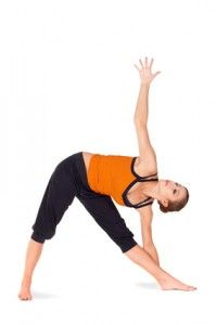 Twist up into the Triangle Pose and De-Tox Your Liver