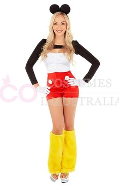 Perfect #Costume ideas for #Mickey Mouse Australia, Adult Minnie Mouse #Fancy Dress, Mini Mouse Costumes.