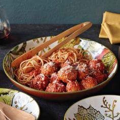 Braised Turkey Meatballs with Quick Tomato Sauce | Williams Sonoma