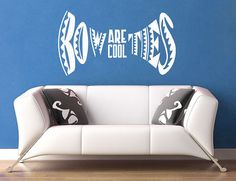 Bow Ties Are Cool  Dr Who  Wall Vinyl  Medium by WallsOfText, $17.95