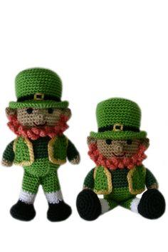 Crochet Pattern: Liam the Leprechaun