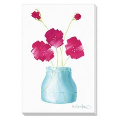 Flowers in a Jar 1- FREE Shipping!