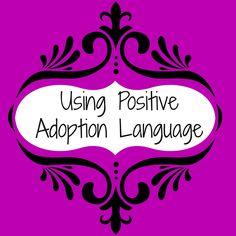 Make It Count: Ornaments for Adoption: Positive Adoption Language
