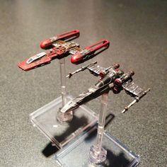 Scum repaints | X-Wing miniatures
