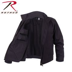 Coming Soon! - Rothco Lightweight Concealed Carry Jacket  has 2 inner pockets for concealed carry, 2 inner mag pockets for ammo, 2 zippered front pockets and adjustable button write closures.