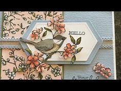 July Bird Ballad greeting card Stampin' Up! Christmas Diy, Christmas Cards, July 14, Bird Cards, Animal Cards, Paper Cards, Cool Cards, Bird Feathers, Stampin Up Cards