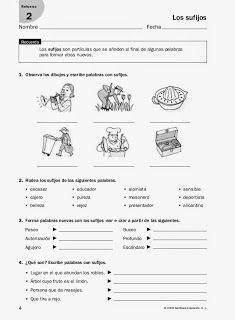 Clase de 6º: cambiamos nuestra metodología: Fichas para trabajar los prefijos y…