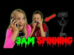 SPINNING 2 FIDGET SPINNERS at 3AM!!! - YouTube