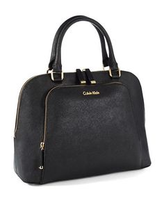 Handbags   Satchels   Saffiano Satchel   Lord and Taylor - Do satchel the right way.