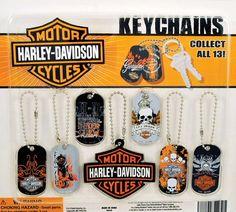 Harley Davidson Keychains Vending Capsules 250 ct