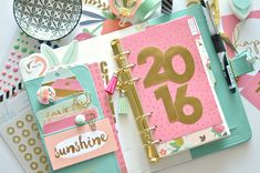 My Webster's Pages planner with MME On trend 2 | by Flóra Mónika Farkas