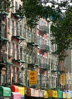 NYC. Manhattan. Chinatown
