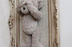 teddy bear art, display teddy bear