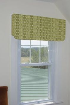 No Sew Valances - I use Styrofoam, cut into the design shape using an X-acto knife, padding and fabric.   Use large tacks to fasten.   Custom look that is easy, beautiful and inexpensive. - Krustyzmom