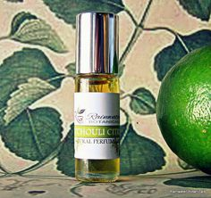 Patchouli Citrus Natural Perfume Oil Roll by rainwaterbotanicals
