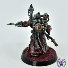 Adeptus Mechanicus: Tech-Priest Enginseer #ChaoticColors #commissionpainting #paintingcommission #painting #miniatures #paintingminiatures #wargaming #Miniaturepainting #Tabletopgames #Wargaming #Scalemodel #Miniatures #art #creative #photooftheday #hobby #paintingwarhammer #Warhammerpainting #warhammer #wh #gamesworkshop #gw #Warhammer40k #Warhammer40000 #Wh40k #40K #Adeptusmechanicus #Mechanicus #Admech #Adeptusmechanicus #Mechanicum #TechPriestEnginseer Warhammer 40000, Tabletop Games, Gw, Priest, Miniatures, Tech, Fantasy, Studio, Creative