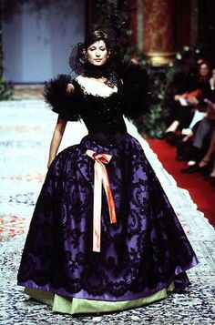 Christian Lacroix - Haute Couture - Runway Collection - WomenFall / Winter 1996