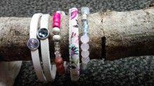leuk setje te koop. 4 items,1 real leather € 17,50 ex shipping landhofschober@hotmail.com Real Leather, 50th, Bracelet, Armband, Bangle, Bracelets