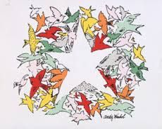 Image result for andy warhol christmas cards