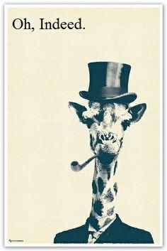 Classy Giraffe.