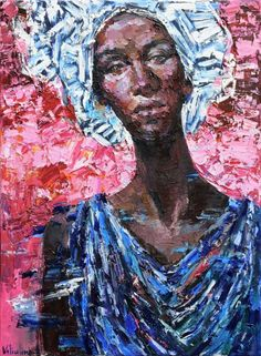 Buy African woman portrait painting - Original oil painting, Oil painting by Anastasiya Valiulina on Artfinder. Discover thousands of other original paintings, prints, sculptures and photography from independent artists.