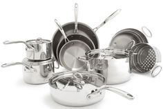 Sur La Table Tri-Ply Stainless cookware